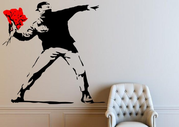 Banksy-Flower-Thrower-LARGE
