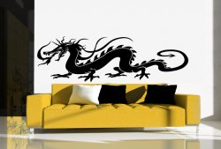 Traditional Chinese Dragon - Huge Wall / Car Sticker