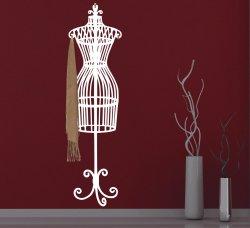 Stylish Mannequin Hanger Wall Hooks Sticker