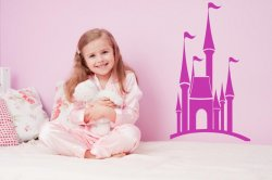 Princess-Castle-Beautiful-Wall-Sticker