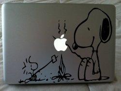 Laptop-Sticker-Snoopy-Dog