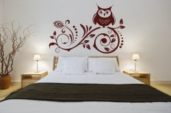 Lovely-Owl-Wall-Stickers