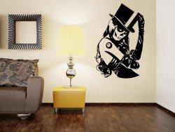 Zoombie Girl Wall Sticker