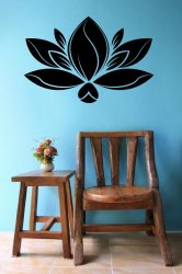 Lotus-Water-Lily-Wall-Sticker