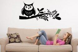 Mysterious-Owl-Beautiful-Wall-Sticker