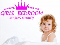 Girls-Bedroom-Sticker-on-the-wall