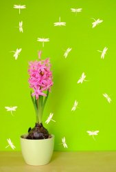 Set-of-dragonflies-Sticker