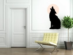 Wolf-Howling-at-the-Moon-Sticker