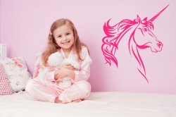 Magic Unicorn - Kids Room Nursery Wall Sticker
