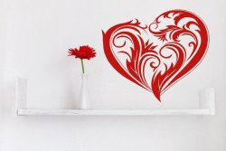 Amazing Heart Beautiful Wall Sticker