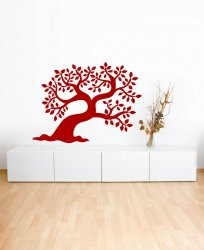 Leaning Tree Wall Art