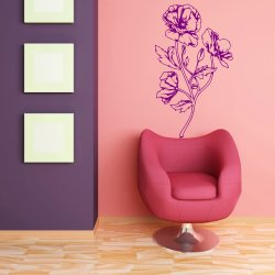 Perfect Flower wall sticker decoration