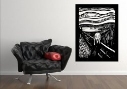 'The Scream' Edvard Munch - amazing painting reproduction!