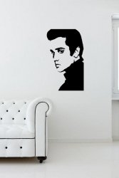 Elvis Presley - Fantastic Vinyl Decal