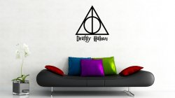 Deathly Hallows Symbol - Wall Decoration