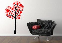 Love / Heart Tree - Large Vinyl Wall Decoration