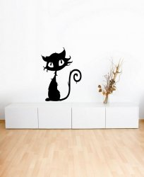 Halloween Cat - Cute Vinyl Sticker