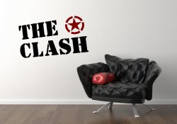 The Clash - Vinyl Wall Decorative Sticker