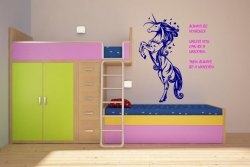 Fabulous Unicorn - Always be yourself - Amazing Wall Decoration