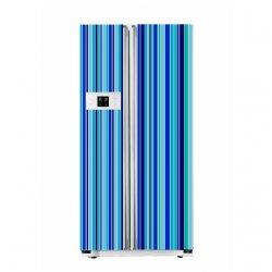 Amazing Colourful Strips Stickers - Fridge Refrigerator Waterproof Decals