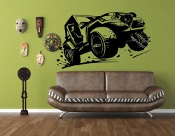 OFF-ROAD Wall Decal Jeep Car  Vinyl Sticker Art Decor High Quality