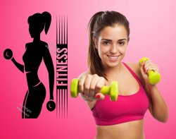 Fitness - Gym Motivational Wall Sticker