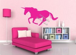Gorgeous Unicorn Wall Stickers For Your little Girls Room