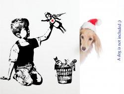 New Banksy Artwork 2020 Boy with the NHS Hero