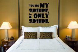 JC Design 'You are my sunshine...' - Optimistic Wall Decoration