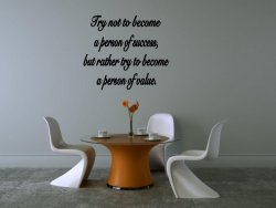 JC Design 'Try not to become a person of success, but rather try to become a per