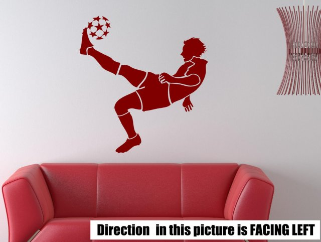 football player boy s room wall sticker wall stickers zlatan ibrahimovic manchester united football player decal