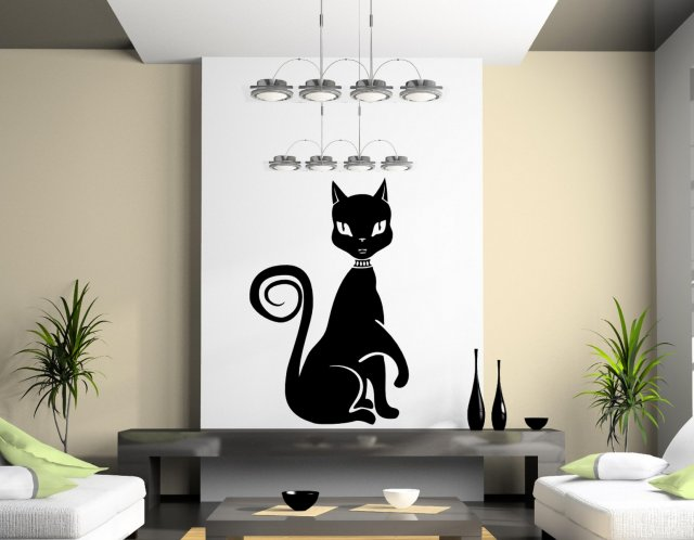 Cute Egyptian Cat Wall Decor | Wall Stickers Store - UK shop with ...