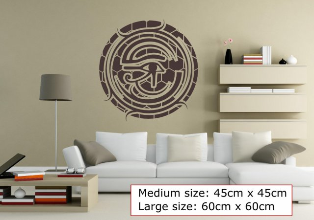Eye of Horus Oriental Wall Decor Wall Stickers Store UK shop