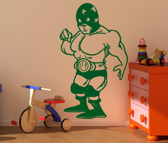 Superhero Boys Teenagers Room Funny Sticker Wall Stickers - Superhero wall decals uk