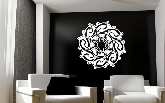 Amazing Celtic Symbol Art Wall Decor Wall Stickers
