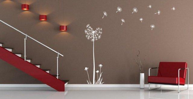 huge dandelion flower amazing wall stickers vinyl decal decor