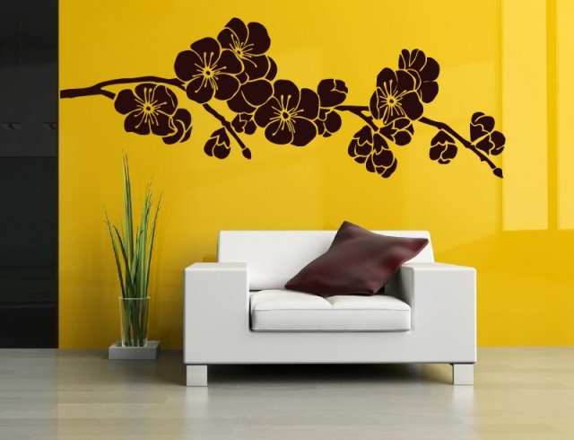 Japanese Cherry Blossom Wall Sticker Wall Stickers Store