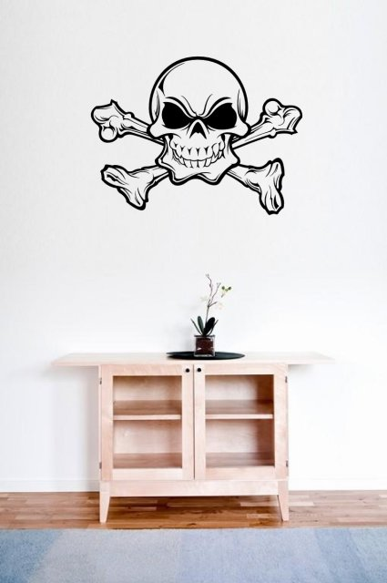 Scary Skull Wall Decal Wall Stickers Store Uk Shop