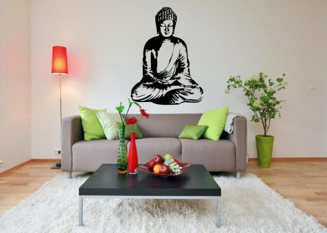 meditating buddha beautiful wall art wall stickers wall decals buddha wall stickers