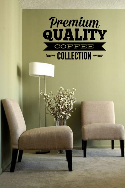 Premium Quality Coffee Collection Lovely Window Wall