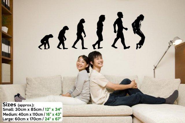 Evolution Michael Jackson King Of Pop Wall Decoration