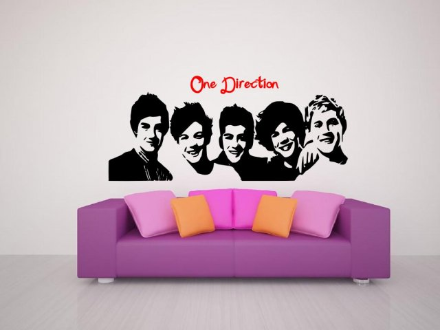 One Direction D Celeb Decal Wall Stickers Store UK Shop With - One direction wall decals