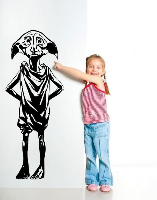 Dobby - Amazing Large Vinyl Sticker