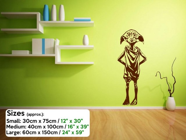 Dobby Amazing Large Vinyl Sticker Wall Stickers Store