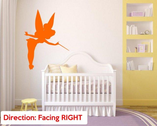 Magic Fairy Tinkerbell Nursery Girls Room Wall