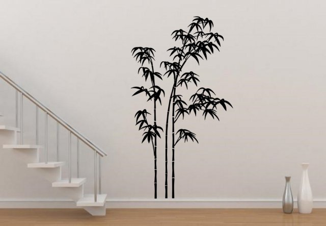 Giant Bamboo Vinyl Wall Sticker Wall Stickers Store