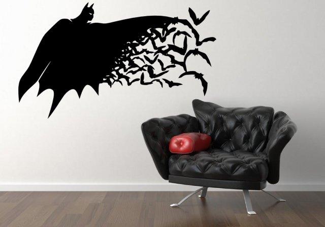 batman large vinyl wall sticker wall stickers store
