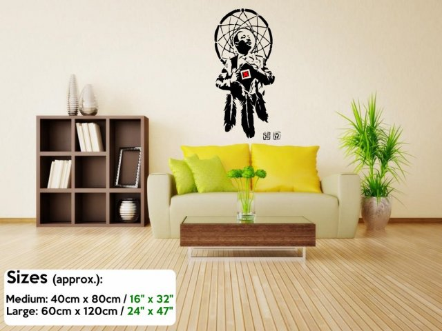 Banksy Martin Luther King \'I Have a Dreamcatcher\' Wall Sticker Decal ...