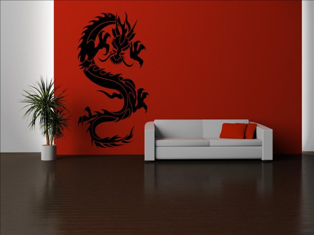 Chinese Dragon Wall Mural Sticker Wall Stickers Store
