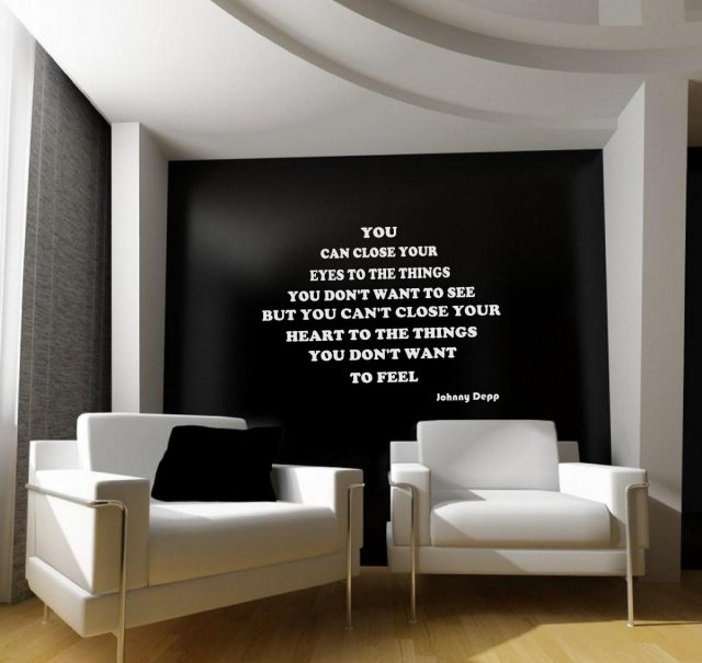 Jc Design You Can Close Your Eyes Johnny Depp Quote